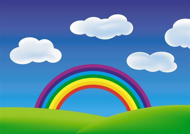 Felice e l arcobaleno redazione scuola - Arcobaleno a colori e stampa ...